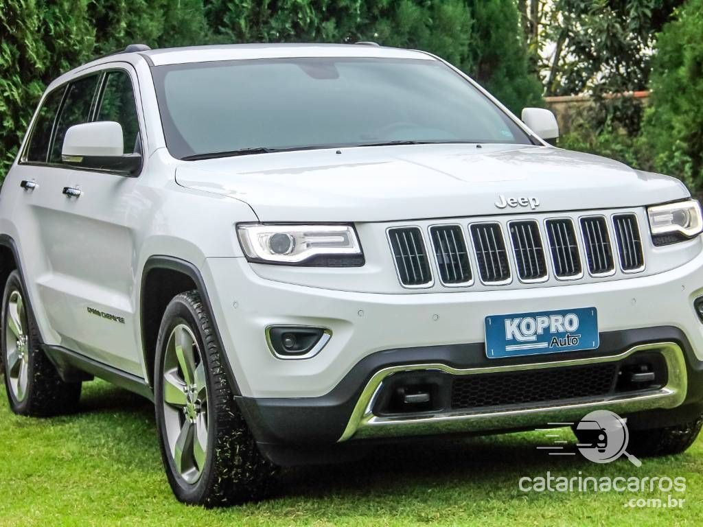 carros altos e de luxo Jeep Grand Cherokee