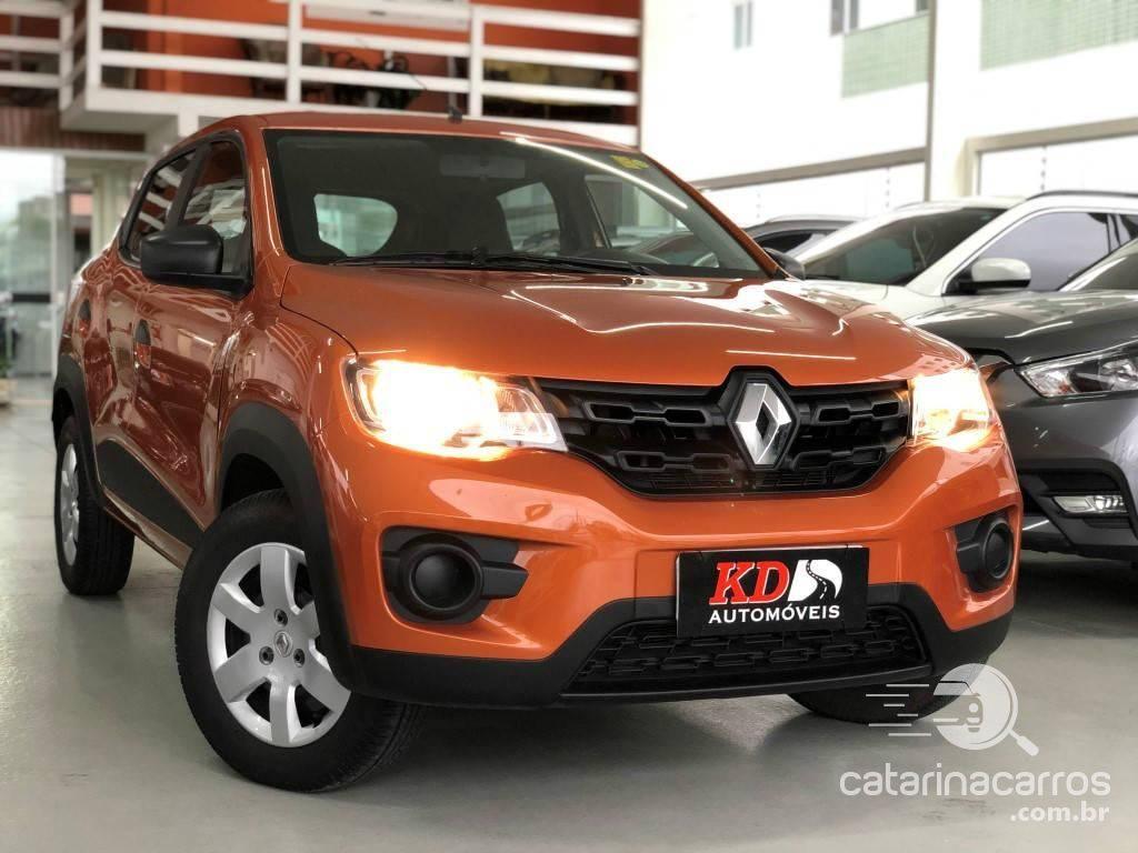 carros altos e baratos Renault Kwid