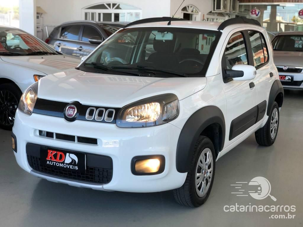 carro alto e barato Fiat Uno Way