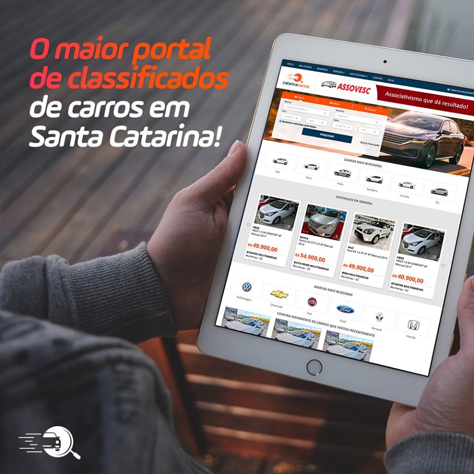 O maior portal de carros na web de Santa Catarina
