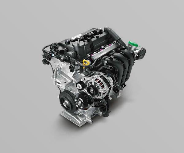 motor 1.0 Kappa aspirado flex de três cilindros do hb20 2020