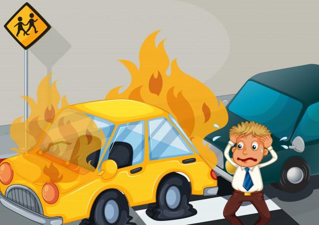 Em situações do dia-a-dia, estamos expostos aos riscos relacionados a roubo, colisão, acidentes, etc.