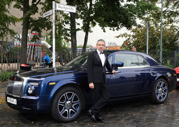 Rolls Royce Phantom Coupe do ator Mr. Bean