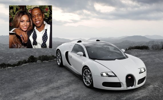 Bugatti Veyron Grand Sport do casal Beyoncé e Jay-Z