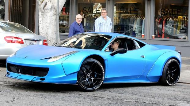 Ferrari 458 Italia de Justin Bieber