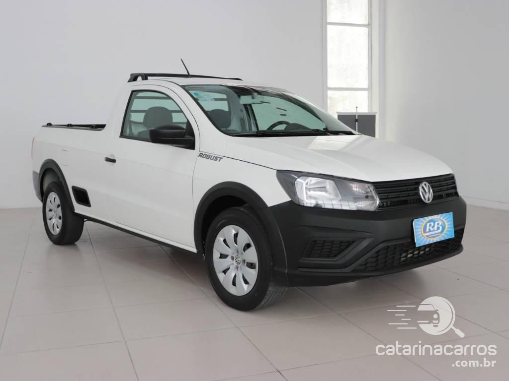Caminhonete Saveiro Robust CS da Volkswagen a partir de R$52.360