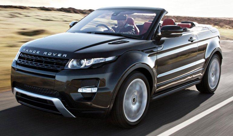 carro Range Rover Evoque conversivel