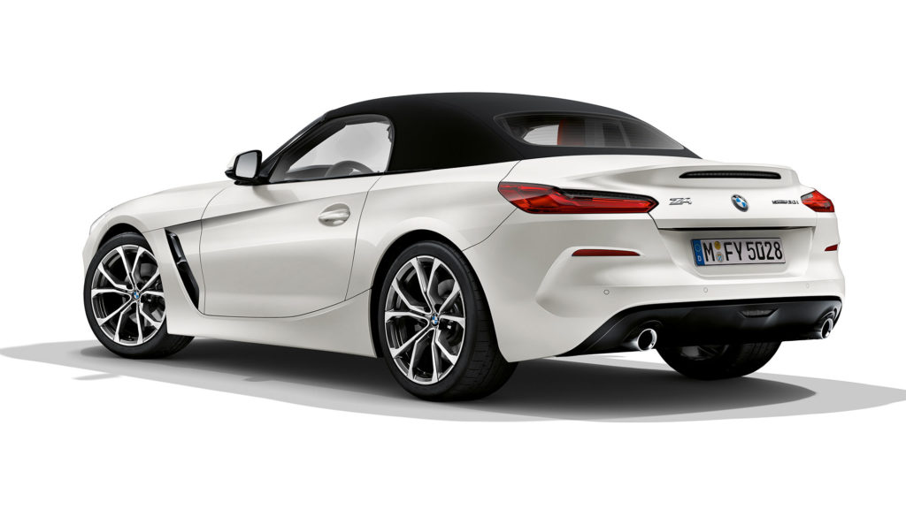 carro BMW Z4 series conversível