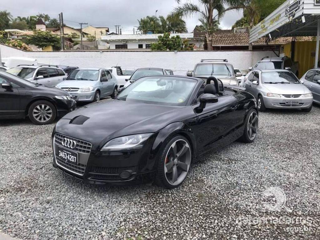 Audi TT carro conversível