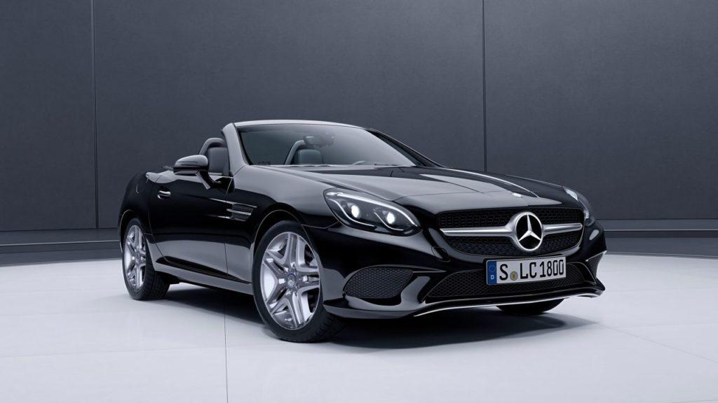 carro Mercedes-Benz SLC conversível