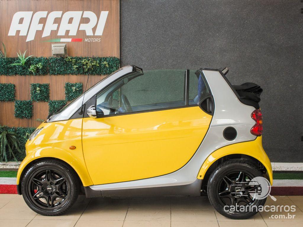 carro Smart Fortwo Cabriolet conversível