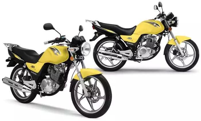 Suzuki é uma das motos mais econômicas