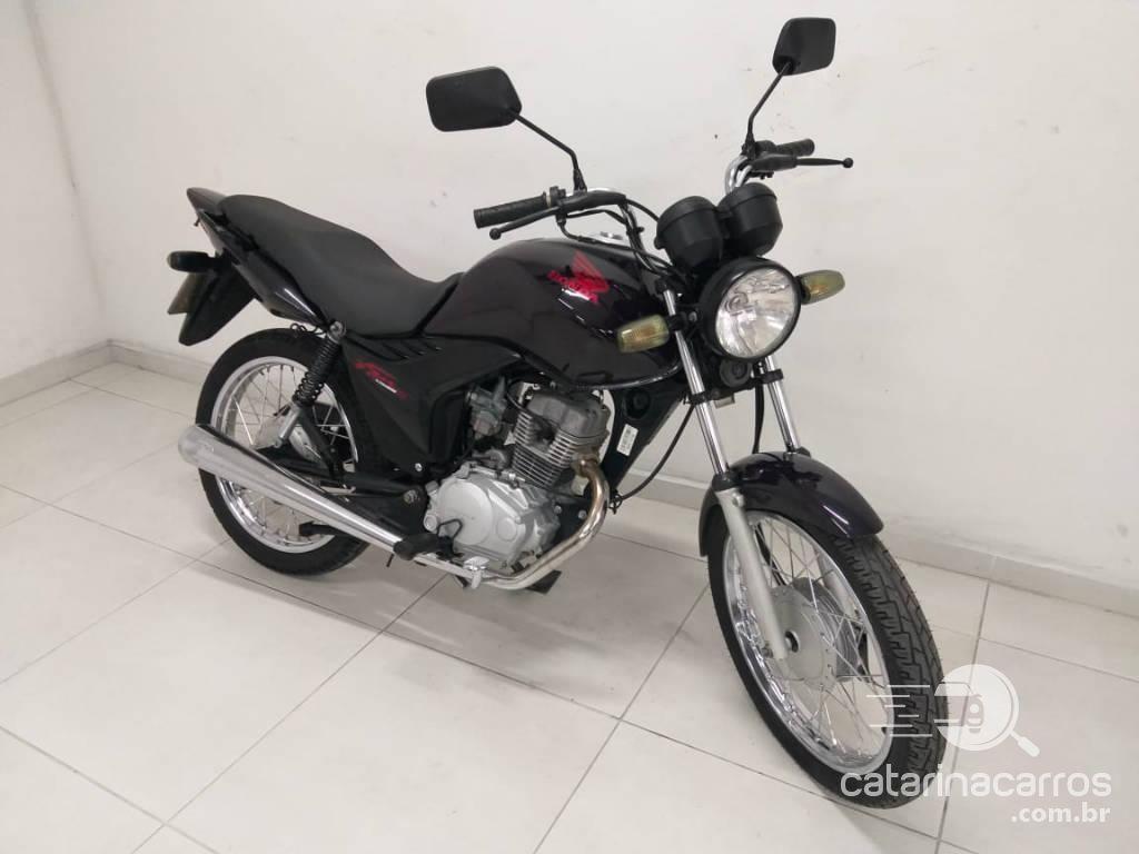 moto Honda Cg 125 uma das mais econômicas motos