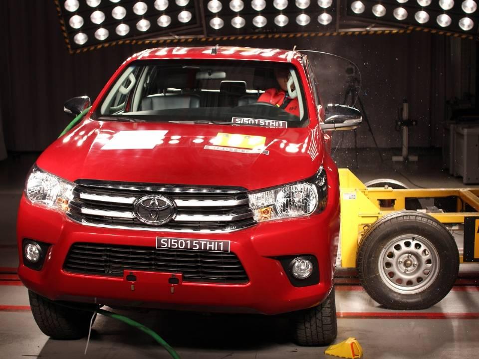 3º Hilux um dos carros mais seguros do brasil