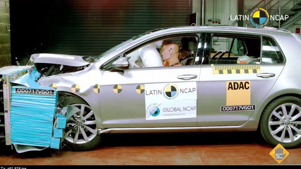 1º Golf o carro mais seguro do brasil