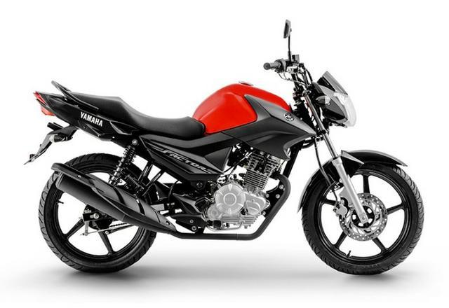 moto mais econômica Yamaha Ybr 125