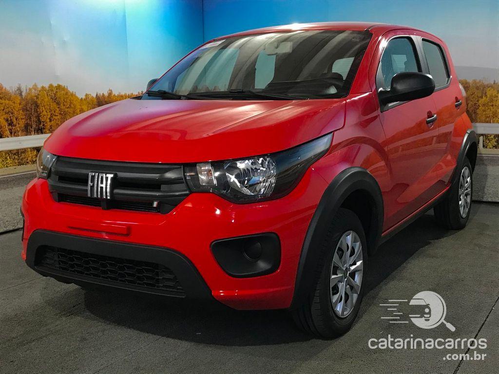 carros custo-benefício Fiat Mobi