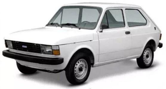 carro pequeno Fiat 147