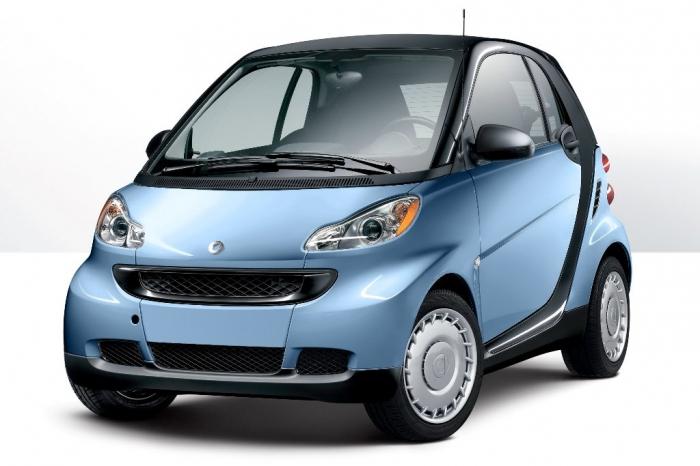 carro pequeno Smart Fortwo