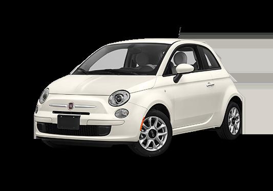 carro pequeno Fiat 500