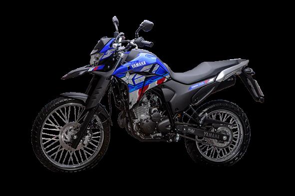 moto Lander 250 Capitão América